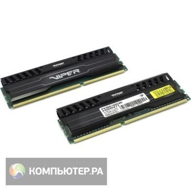 Память DDR3 8Gb 1600MHz Patriot PV38G160C9K RTL PC3-12800 CL9 DIMM 240-pin 1.5В