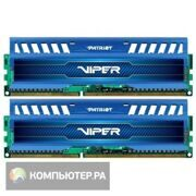 Память DDR3 2x4Gb 1600MHz Patriot PV38G160C9K RTL PC3-12800 CL9 DIMM 240-pin 1.5В