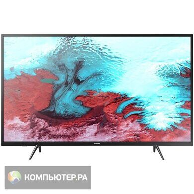 "Телевизор LED Samsung 43"" UE43J5202AUXRU 5 черный/FULL HD/100Hz/DVB-T2/DVB-C/DVB-S2/USB/WiFi/Smart T"