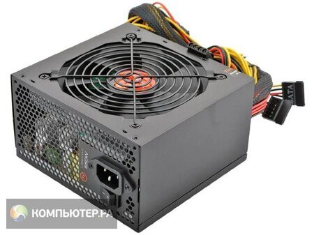 Блок питания Thermaltake ATX 650W LT-650P (24+4+4pin) APFC 120mm fan 5xSATA RTL