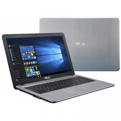 "Ноутбук Asus VivoBook X543UB-GQ1168 Pen 4417U/4Gb/500Gb/DVDRW/Mx110 2Gb/15.6""/HD/Endless/grey"