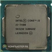Процессор Intel Original Core i5 7400 Soc-1151 (CM8067702867050S R32W) (3GHz/HDG630) OEM