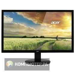 "Монитор Acer 21.5"" K222HQLDb черный TN+film LED 5ms 16:9 Mat 100000000:1 250cd"