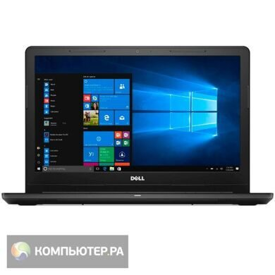 "Ноутбук Dell Inspiron 3552 Pen N3710/4Gb/500Gb/DVDRW/405/15.6""/HD/Lin/black/WiFi/BT/Cam/2700mAh¶"