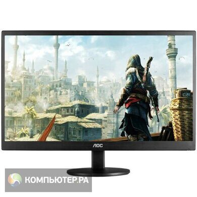 "Монитор AOC 23.6"" Value Line M2470SWD2(00/01) черный MVA LED 16:9 DVI Mat 250cd"